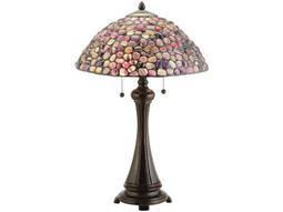 Meyda Tiffany Jasper Purple Table Lamp