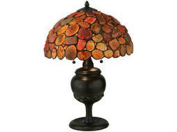 Meyda Tiffany Jasper Red Table Lamp