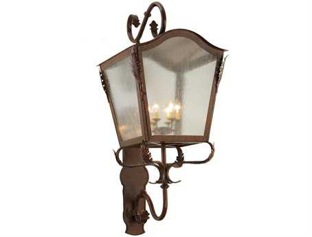 Meyda Tiffany Christian Six-Light Lantern Wall Sconce