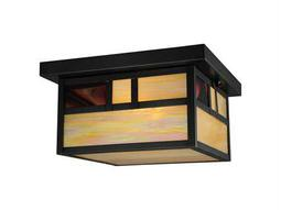 Meyda Tiffany Hyde Park Double Bar Mission Two-Light Outdoor Ceiling light