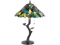 Meyda Tiffany Grape Harvest Apple Tree Green Grapes Table Lamp