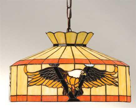 Meyda Tiffany Victory Eagle Swag Pendant