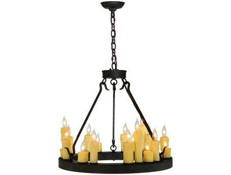 Meyda Tiffany Deina 18-Light 23 Wide Mini Chandelier