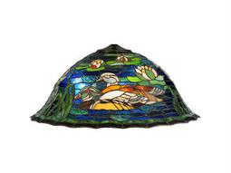 Meyda Tiffany Wood Ducks Shade