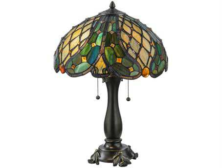 Meyda Tiffany Capolavoro Multi-Color Table Lamp