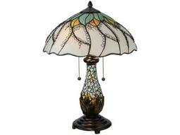 Meyda Tiffany Videira Florale Multi-Color Table Lamp