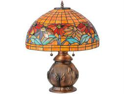 Meyda Tiffany Black Eyed Susan Multi-Color Table Lamp