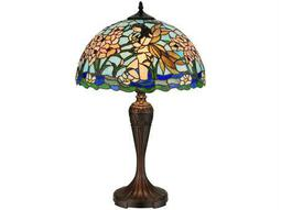 Meyda Tiffany Fairy Pond Multi-Color Table Lamp