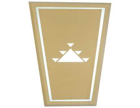 Meyda Tiffany Ask-4e Three-Light Outdoor Wall Sconce