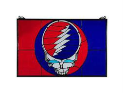 Meyda Tiffany Grateful Dead Stained Glass Window