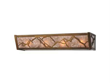 Meyda Tiffany Mountains Four-Light Vanity Light