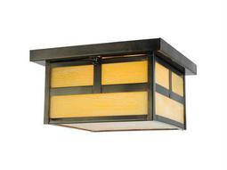 Meyda Tiffany Hyde Park T Mission Two-Light Outdoor Ceiling Light