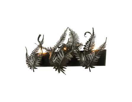 Meyda Tiffany Fern Three-Light Vanity Light