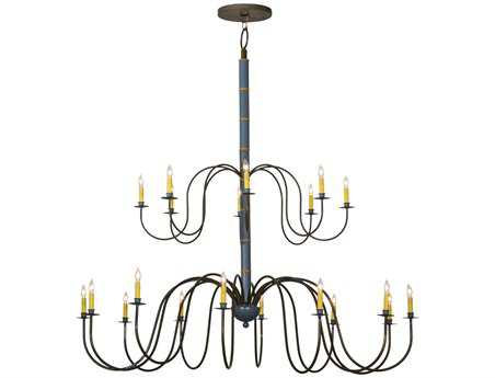Meyda Tiffany Marseille 2 Tier 20-Light 68 Wide Grand Chandelier