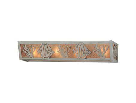 Meyda Tiffany Tropical Fish Four-Light Vanity Light