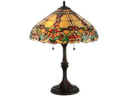 Meyda Tiffany Baroque Vine Multi-Color Table Lamp