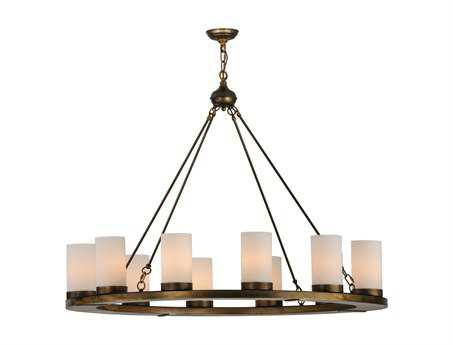 Meyda Tiffany Loxley 12-Light 48'' Wide Chandelier