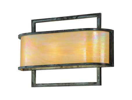 Meyda Tiffany Faja Three-Light Wall Sconce