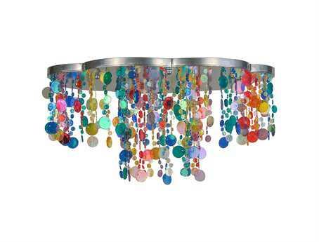 Meyda Tiffany Celebration Flush Mount Light
