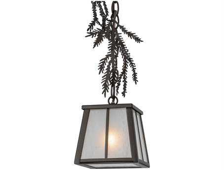 Meyda Tiffany Pine Branch Mini-Pendant
