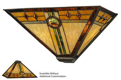 Meyda Tiffany Carlsbad Mission Two-Light Wall Sconce