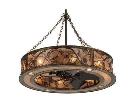 Meyda Tiffany Whispering Pines 16-Light Chandel-Air