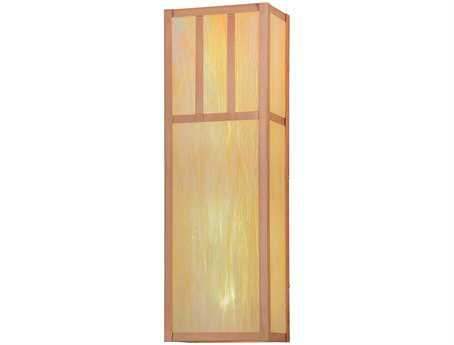 Meyda Tiffany Double Bar Mission Four-Light Outdoor Wall Light