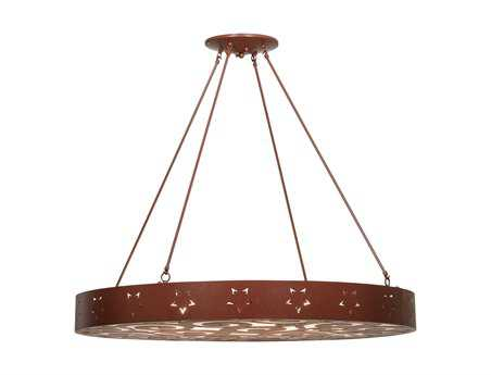Meyda Tiffany Jules Six-Light Semi-Flush Mount Light