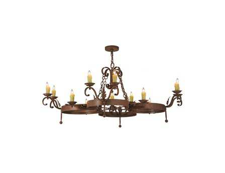 Meyda Tiffany Andorra 12-Light 60 Wide Grand Chandelier