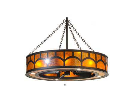 Meyda Tiffany Mission Hill Top with LED 16-Light Spotlight Chandel-Air