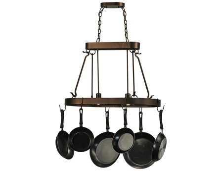 Meyda Tiffany Harmony Two-Light Pot Rack