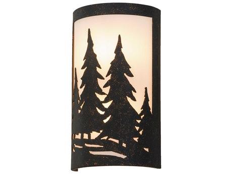 Meyda Tiffany Tall Pines Ada Outdoor Wall Light