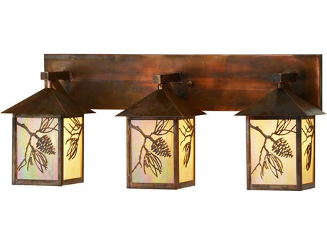 Meyda Tiffany Balsam Pine Three-Light Vanity Light