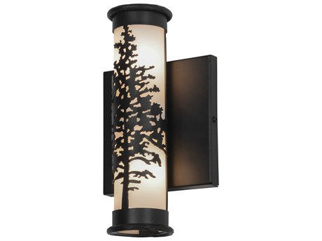 Meyda Tiffany Tamarack Two-Light Outdoor Wall Light