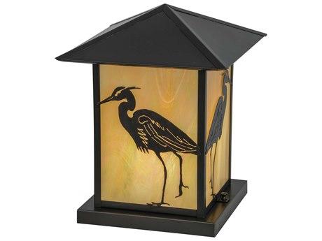 Meyda Tiffany Seneca Heron Bai Craftsman Outdoor Pier Mount Light
