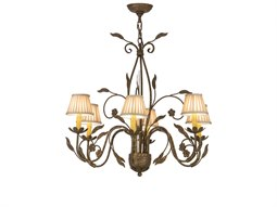 Meyda Tiffany Bordeau Six-Light 30 Wide Grand Chandelier