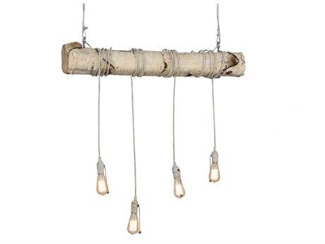 Meyda Tiffany Hounds Tooth Four-Light Island Light