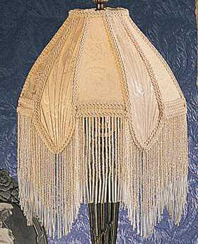 Meyda Tiffany Fabric & Fringe Arbesque Shade