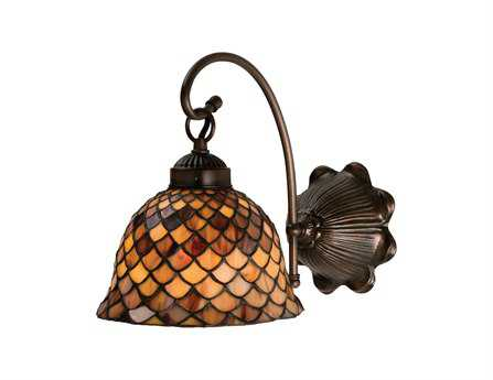 Meyda Tiffany Fishscale Wall Sconce