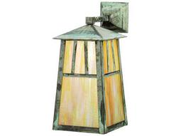 Meyda Tiffany Stillwater Double Bar Mission Elongated Solid Mount Outdoor Wall Light