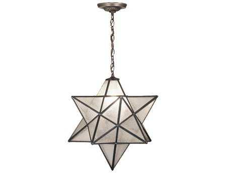Meyda Tiffany Moravian Star Seedy Pendant