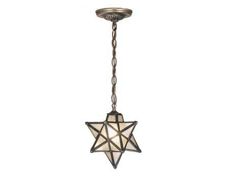 Meyda Tiffany Moravian Star Seedy Mini-Pendant