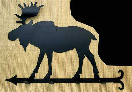 Meyda Tiffany Moose Coat Rack