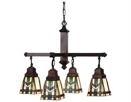 Meyda Tiffany Prairie Wheat Four-Light 26 Wide Grand Chandelier