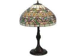 Meyda Tiffany Ivy Basket Multi-Color Table Lamp