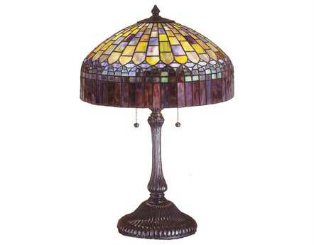 Meyda Tiffany Candice Multi-Color Table Lamp