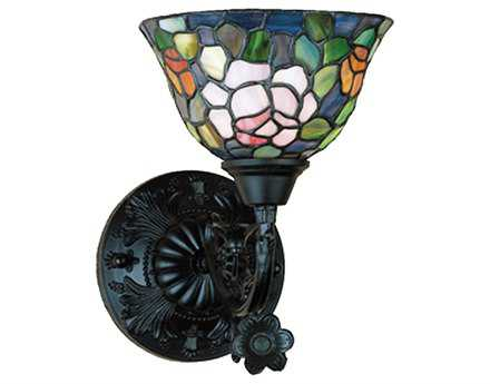 Meyda Tiffany Rosebush Wall Sconce