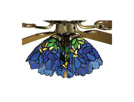 Meyda Tiffany Iris Fan Light Shade