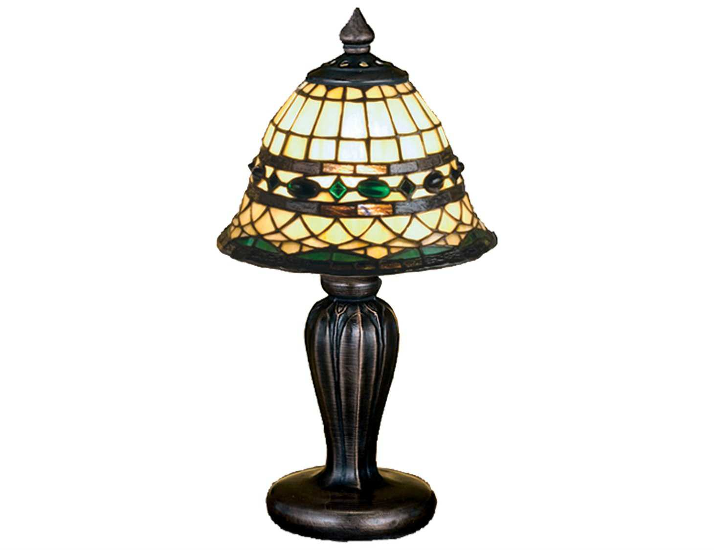 Meyda Tiffany Roman Multi Color Mini Lamp My27535