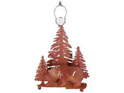 Meyda Tiffany Grizzly Bear Through The Trees Table Lamp Base